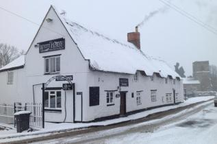 Pictures of the beer served at the White Horse, a traditional country pub in Welton near Daventry